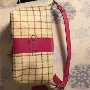 Adorable small spring Coach bag